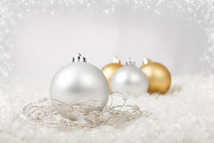 Bolas do Natal Fotografia de Stock Royalty Free