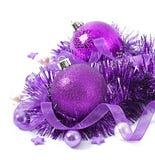 Bolas do Natal Imagens de Stock