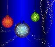Bolas do Natal Fotos de Stock Royalty Free