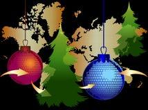 Bolas do Natal Foto de Stock Royalty Free