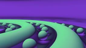 bolas do sumário 3d ilustração stock