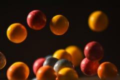 Bolas doces no ar Fotografia de Stock