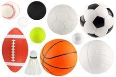 Bolas en el deporte 1 Imagen de archivo