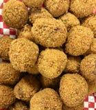 Bolas fritadas do croquete Imagem de Stock Royalty Free