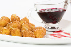 Bolas fritadas do queijo Imagens de Stock