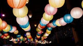 Bolas ligeras coloridas Imagen de archivo