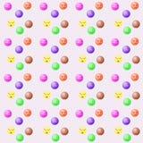 Bolas multicoloras Imagen de archivo libre de regalías
