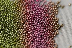Bolas multicoloras de la pila Foto de archivo