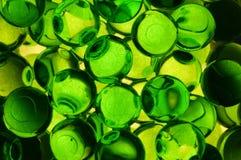Bolas perfumadas verde do gel Fotografia de Stock Royalty Free