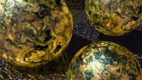 Bolas plasmáticas Imagem de Stock
