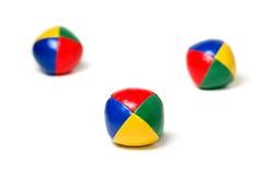 Bolas que hacen juegos malabares Foto de archivo