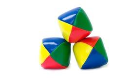 Bolas que hacen juegos malabares Imágenes de archivo libres de regalías
