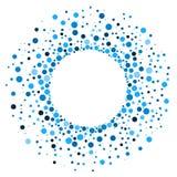 Bolas redondas circulares da beira do quadro