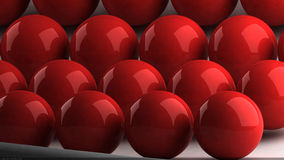 Bolas rojas 2 Stock Image