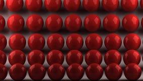 Bolas rojas Foto de Stock