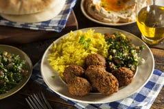 Bolas saudáveis do Falafel do vegetariano Imagem de Stock