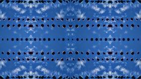 Bolas suspendidas bajo efecto de los espejos del cielo stock de ilustración
