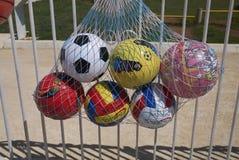 Bolas vendidas na rua imagem de stock
