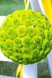 Bolas verdes da flor imagens de stock royalty free