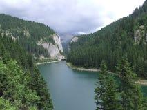 Bolboci lake Stock Image