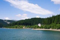 Bolboci lake Arkivbilder