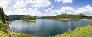 Bolboci lake panorama Stock Photo
