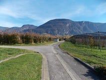 Bolcano, Italie images stock