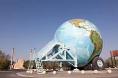Bolcaravan bij Automuseum, Abu Dhabi Stock Afbeeldingen