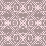 Bold Beige and Pink Seamless Pattern. Royalty Free Stock Image