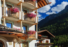 Bold decorations in south tyrol Royalty Free Stock Images