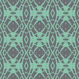 Bold Ethnic Emerald Green Seamless Pattern Royalty Free Stock Photo
