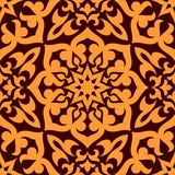 Bold geometric muslim seamless pattern Royalty Free Stock Images