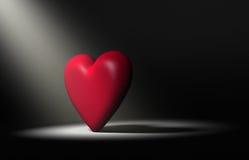 Bold Heart Royalty Free Stock Photo