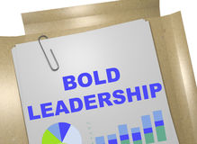 Bold Leadership - business concept Royalty Free Stock Photos