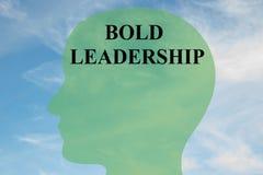 Bold Leadership concept Royalty Free Stock Photo