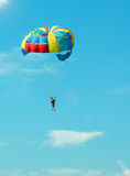 Bold paratrooper Royalty Free Stock Photography
