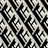 Bold pattern with architectural motifs Royalty Free Stock Photos