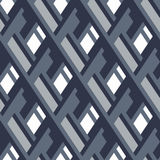 Bold pattern with architectural motifs Stock Image