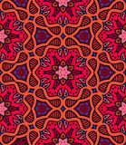 Bold pattern with Indian motifs Stock Images