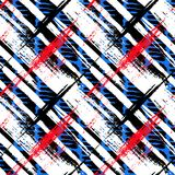 Bold pattern with wide brushstrokes and stripes Stock Photography