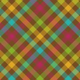 Bold Plaid Pattern. Bold plaid background pattern in fall colors Stock Images