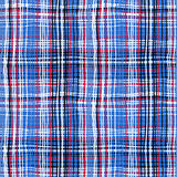 Bold plaid pattern with thin brushstrokes Royalty Free Stock Image