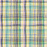Bold plaid pattern with thin brushstrokes Stock Photos