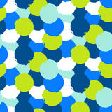 Bold print with circles Stock Photo