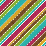 Bold Stripes Background. Illustration in fall colors Royalty Free Stock Photos
