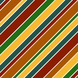 Bold Stripes Background. Illustration in fall colors Stock Image