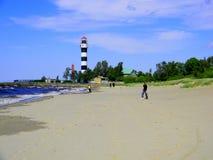 Bolderaja strand Royaltyfria Foton
