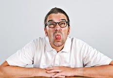 Boldfaced mężczyzna Zdjęcia Stock