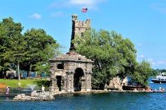 boldt καρδιά τοποθετημένες νησί ΗΠΑ κάστρων Στοκ Φωτογραφία