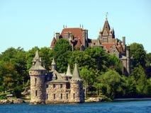 Boldt Castle σε χιλιάες νησί, Νέα Υόρκη Στοκ Φωτογραφίες